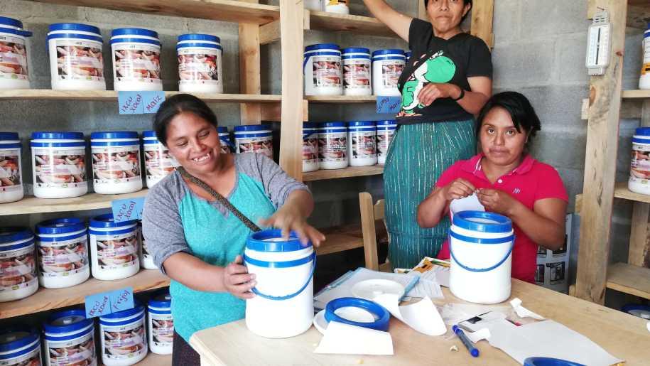 Fortalecimiento de la resiliencia en comunidades indígenas del Altiplano de Guatemala, financiado por el Fondo de Desarrollo de Noruega
