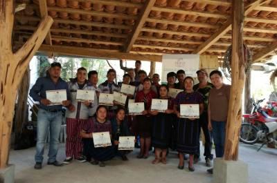 Proyecto de Seguridad Alimentaria y Nutricional basado en el Manejo y Conservación de la Agrobiodiversidad en Laderas de Centro América (GANASOL), financiado por Heifer International