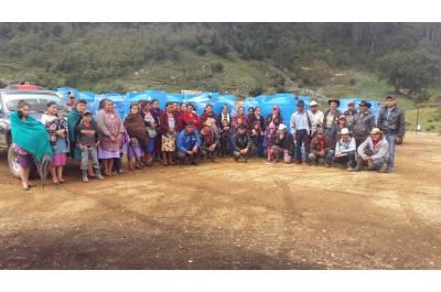 Implementación de acciones forestales, conservación de suelos y cosecha de agua en la Microcuenca Magdalena, Chiantla, financiado por TNC