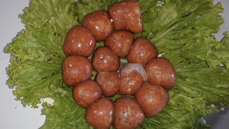 Chorizos de cordero