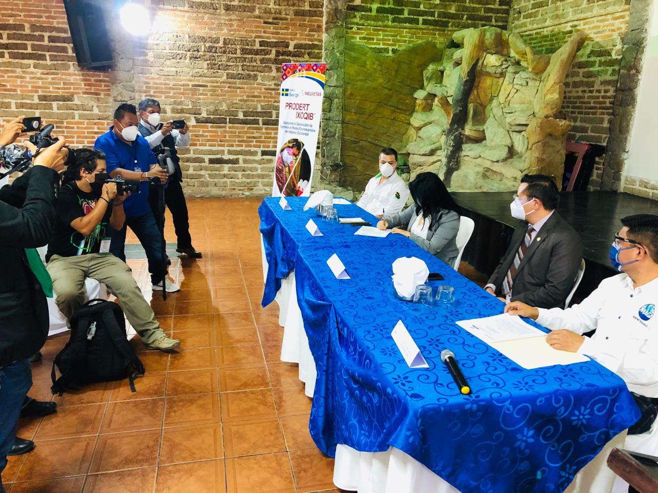 ASOCUCH fortalece colaboración con Helvetas y MAGA Huehuetenango